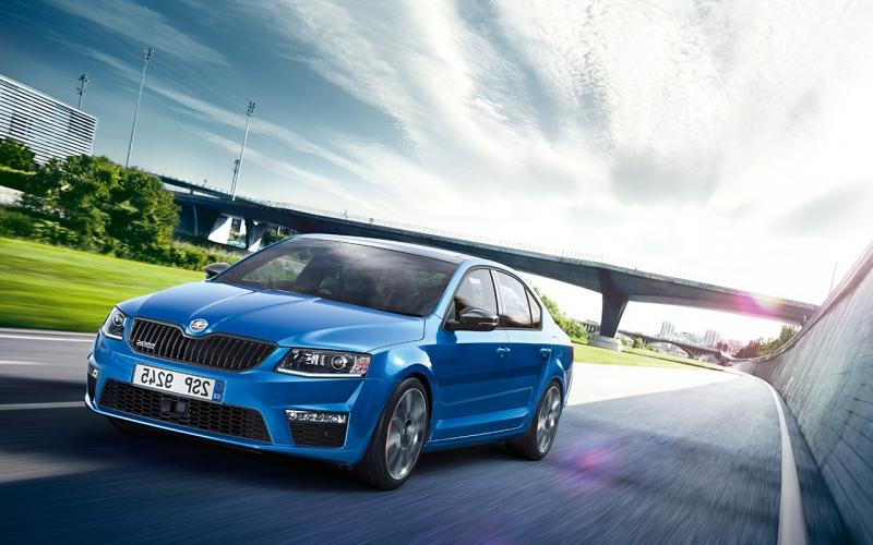 New SKODA Octavia A7 RS (фото 1) ...